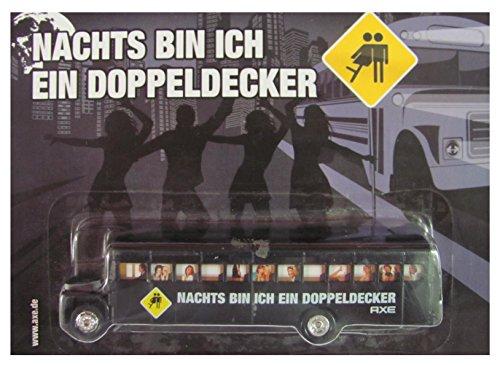 Preisvergleich Produktbild Axe Nr. - Nachts Bin ich EIN Doppeldecker - US Schoolbus - Bus