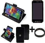 TOP SET: 360° Schutz Hülle Smartphone Tasche für Cyrus