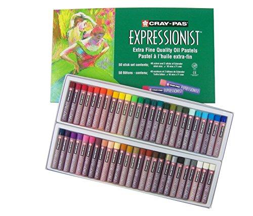 Cray nicht Expressionist 50Stück Pastellkreide, Öl verschiedene Farben