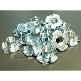 25 pectorales M 6 x 9 mm tuerca T de acero zincado onestopdiycom 4 puntas madera PW0609