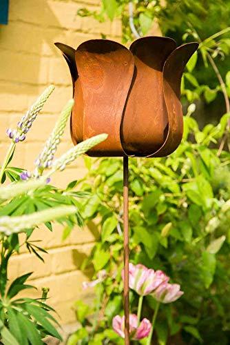kuheiga Gartenstecker Tulpe Blume Höhe: 130cm - 2