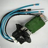 qdi peugeot 206 307 c blage connecteur pour r sistance de moteur de ventilateur. Black Bedroom Furniture Sets. Home Design Ideas