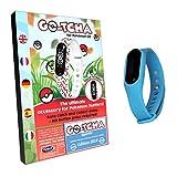 Pulsera táctil LED Go-Tcha para Pokémon Go Versión 2018 Edición Squirtle azul claro (alternativa...
