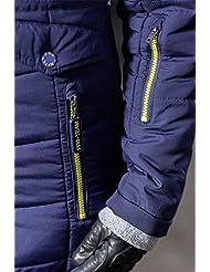 HKM PRO TEAM Edredón abrigo–de flash, color azul oscuro, tamaño 10 años (140 cm)