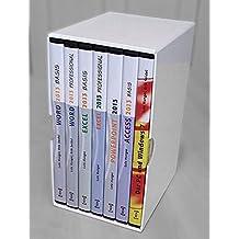MS Office 2013 Gesamtausgabe, 7 CD-ROMs Word 2013 Basis, Word 2013 Professional, Excel 2013 Basis, Excel 2013 Professional, Access 2013 Basis, PowerPoint 2013. An Beispielen lernen. Mit Aufgaben üben. Durch Testfragen Wissen überprüfen