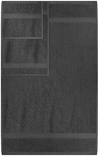 confronta il prezzo Set Premium di Asciugamani 8 Pezzi (Grigio); 2 Asciugamani da Bagno, 2 Asciugamani e 4 Salviette - Cotone - Qualità da Hotel, Super Morbida ed Altamente Assorbente da Utopia Towels miglior prezzo
