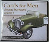 Debbi Moore Designs Cards for Men Vintage Transport Volume 4 CD Rom (296399)
