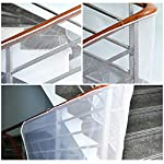 Cizen Child Banister Safety Guard, Removable Balcony and Stairway Safety Net, Safe Rail Mesh Net for Children Pet Safety - 300cm * 75cm / 118.1 * 29.5in
