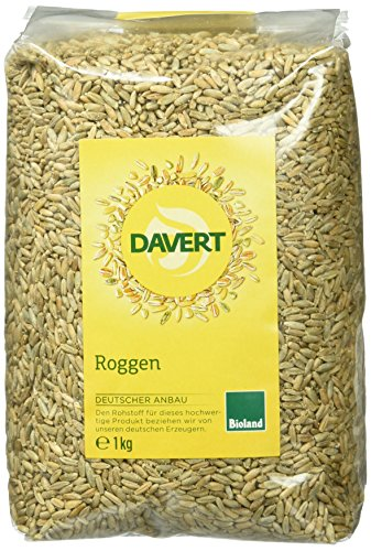 Davert Roggen, 4er Pack (4 x 1 kg)