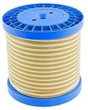 FlaDiBa - die schnelle Dichtung - PTFE-Flachdichtungsband - weich/formbar - weiß - 10mtr auf Spule - 10 x 3 mm - einseitig selbstklebend