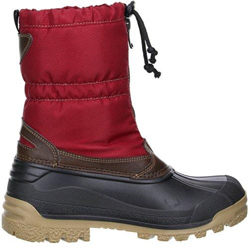 Vista Canada POLAR Damen Winterstiefel Snowboots Thermo-TEX Innenschuhen rot Rot