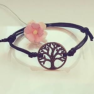 Baum des Lebens Armband in Schwarz Bronze Größenverstellbar, tree of life / vintage / ethno / hippie / must have / statement / florabella schmuck