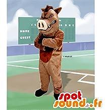 mascota SpotSound de jabalí, cerdo salvaje