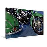 Premium Textil-Leinwand 90 x 60 cm Quer-Format Zündapp KS 601 | Wandbild, HD-Bild auf Keilrahmen, Fertigbild auf hochwertigem Vlies, Leinwanddruck von Ingo Laue (CALVENDO Mobilitaet)