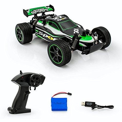 Spire Tech st-331Offizielles Lizenzprodukt RC Buggy 2,4GHz Fernsteuerung Auto Racing Truggy bis zu 20Kmh â € USB wiederaufladbar â € innen und Außenbereich (grün)