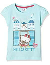 Hello Kitty Girl's Blue Summer T-Shirt