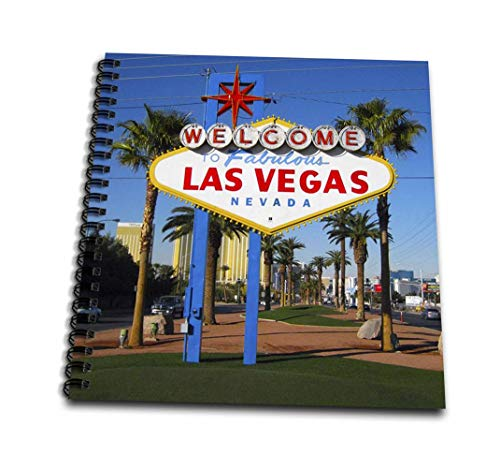 3dRose DB 156501_ 2Welcome to Fabulous Las Vegas, Nevada Speicher Buch, 12von 30,5cm Db-papier