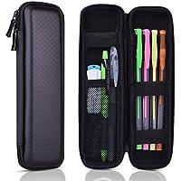 kuuqa Coque rigide en EVA noir stylo crayon étui support pour stylo à bille executive Stylo plume, Apple, crayon, stylo, stylet tactile