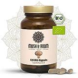 BIO Reishi BIO Cordyceps BIO Shiitake Kapseln I Vegan I 120 Stück I Mush & Room - Vitalpilz Superfood Mix