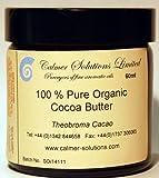 100% Puro Burro Di Cacao Organico 60ml barattolo