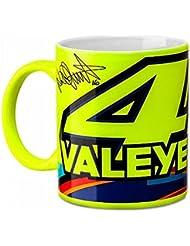 Valentino Rossi VR46 Moto GP 46 ValeYellow Amarillo jarra Oficial 2017