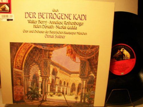 CHRISTOPH WILLIBALD GLUCK - DER BETROGENE KADI - EMI HIS MASTER'S VOICE - VINYL
