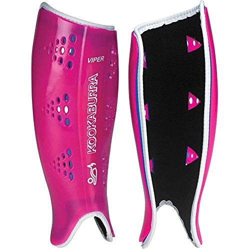 Kookaburra  Unisex Viper Shinguard M Hockey Protective Equipment, Pink/Blue, Medium