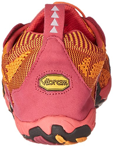 Vibram Fivefingers - Kmd Evo, Scarpe sportive outdoor Donna Multicolore (Mehrfarbig (Red/orange/black))
