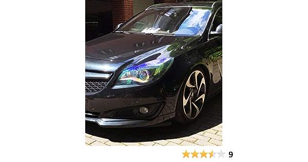 Scheinwerfer Folie Rückleuchte Nebler Tönungsfolie Tönung Gelb Schwarz Dub Rainbow 30x100cm Auto