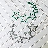 Scrapbooking Stanzschablone, FNKDOR Papierbasteln Schablonen Embossing Machine Schneiden Stanzformen, für Sizzix Big Shot und Andere Stanzmaschine (B)