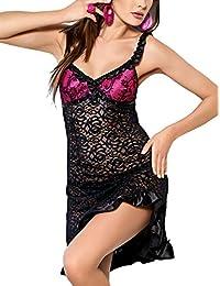 Tessoro 252 Pink Attraction Set Sensuelle Et Elégante Chemise + String - Fabriqué en UE
