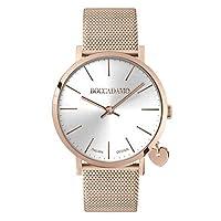 Boccadamo Time Mya Collection MY018 - Reloj para mujer, color rosa, blanco y dorado de Boccadamo Time
