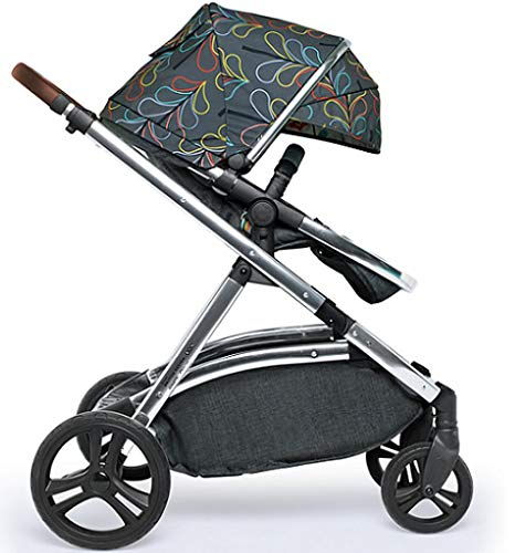 Cosatto Wow XL Tandem Pushchair in Nordik with Board car seat Bag & footmuff Cosatto INCLUDES: Chassis, Carrycot, Seat unit, Buggy board, Dock isize car seat, Change bag, Footmuff, 2 x Raincover, 2 x Toys and 10 year guarantee(UK and Ireland only) Comes as a single unit with carrycot, seat unit and adaptor kit. Suitable from birth up to 25kg Seat unit suitable from 6 months up to 25kg Carrycot suitable from birth to approx. 6 months Compatible with Dock i-Size car seat. (Car seat & adaptor both included) High position seat option bringing baby closer to you less reaching and stretching post pregnancy. From-birth carrycot with comfy mattress, carry handle and removable washable liner. 'In or out' facing pushchair seat lets them bond with you or enjoy the view. Deep comfy pushchair seat for a supportive snuggle. Seat structured and upholstered for ultra comfort. Chest pads and tummy pad. This is comfort. 7