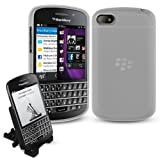 BlackBerry Q10 Zubehörpack (Accessory Pack) - WEIß Bendy