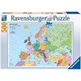 Ravensburger Political Map of Europe 500pc Jigsaw Puzzle