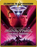 Star Trek 5 - The Final Frontier (Limited Edition 50th Anniversary Steelbook) [Blu-ray] [2015]