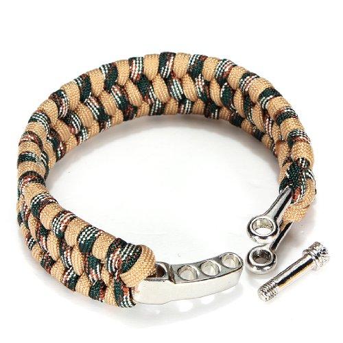 Zoom IMG-3 bracciale regolabile in corda intrecciata