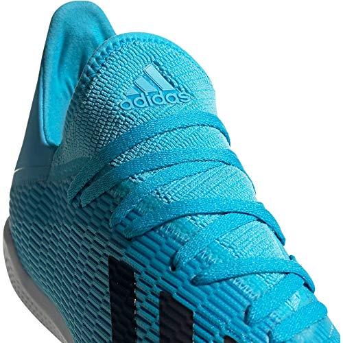 """adidas Performance Herren Fußballschuhe Halle X 19.3 IN"""" blau/Weiss (707) 40EU"""