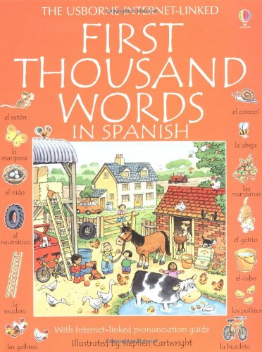 First Thousand Words in Spanish (Usborne First Thousand Words)