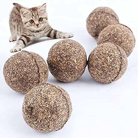 Nature Pet Katze Mint Ball Beschichtet mit Katzenminze Spielzeug (1 Stück)