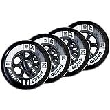 K2 Skates 90mm Speed Wheel 4-Pack Inline Skate Ersatzrollen 4er Pack 30B3005.1.1