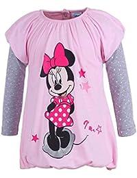 DISNEY Mädchen Minnie Mouse Kleid, rosa