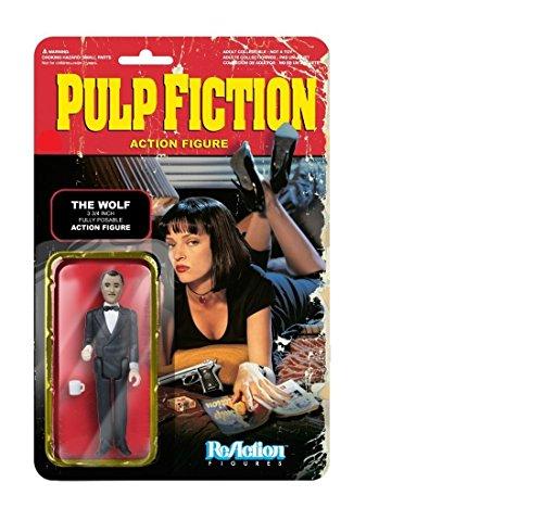 ReAction Pulp Fiction figura de acción de la onda 2 Los Lobo 10 cm