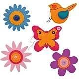 Ideen für Ostergeschenke Bastelideen zu Ostern 2014 - Sunnysue Ostern Filz-Anhänger