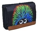 MySleeveDesign Messenger Bag Laptoptasche Notebooktasche mit Tragegurt für 13,3 Zoll / 14 Zoll / 15,6 Zoll / 17,3 Zoll - VERSCH. DESIGNS - Creature [17]