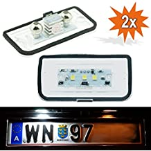 Do!Led LD W203 4D_1 W203  4D Led Numberplate Matrícula con Certificado E Xenón