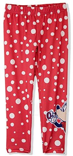 Disney - Leggings - niña Rojo rosso 5-6 Años