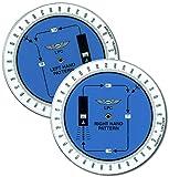 Asa–aterrizaje patrón LPC, Parque infantil ordenador Helpers rondas, VFR IFR Aviación