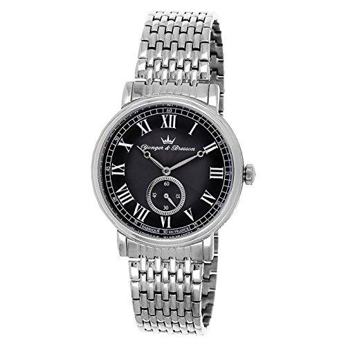 Reloj Yonger & Bresson hombre negro–HMC 077/AM
