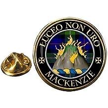 Mackenzie Clan escocés de selección de fútbol de solapa